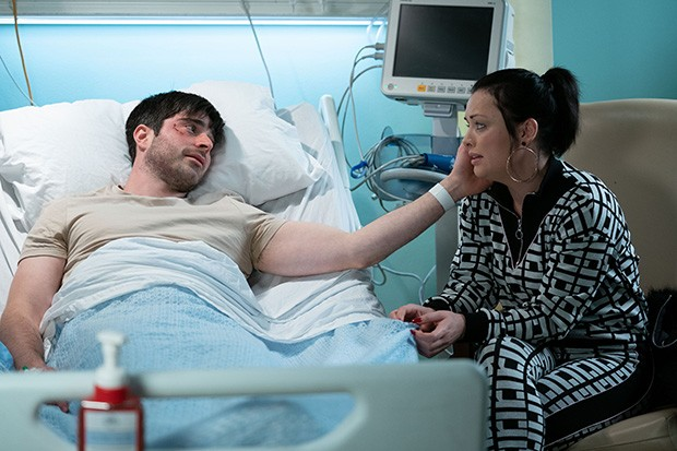 EastEnders Leo and Whitney