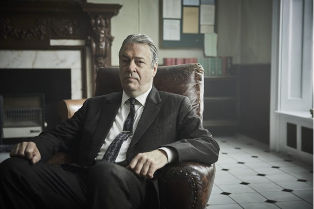 Roger Allam plays Detective Inspector Fred Thursday