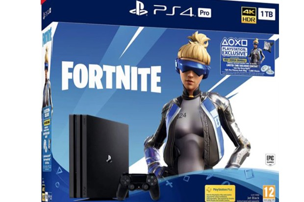 Fornite PS4 console