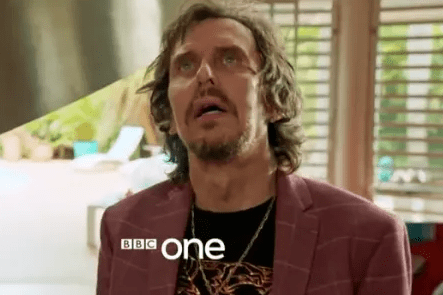Matt King plays Terry Minto in Death in Paradise