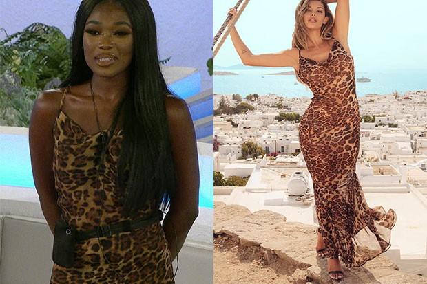 Love Island - Leanne - Robe longue léopard