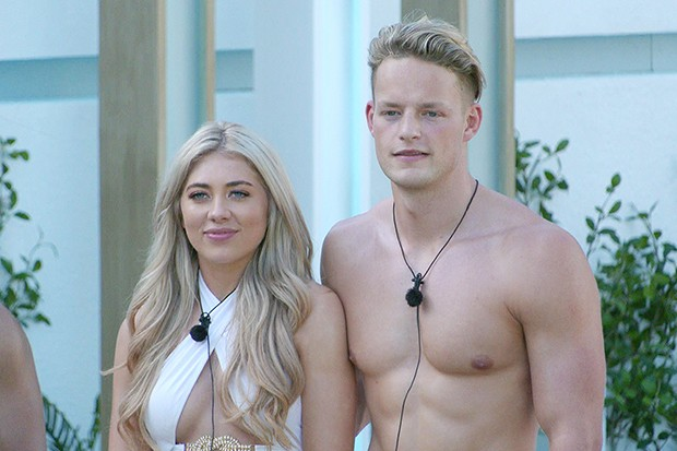 Love Island's Paige and Ollie