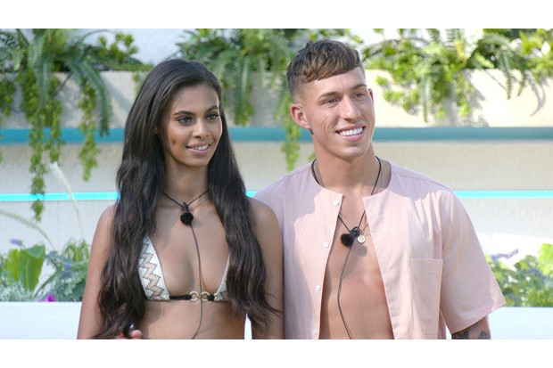 Love Island couples Sophie and Connor ©ITV