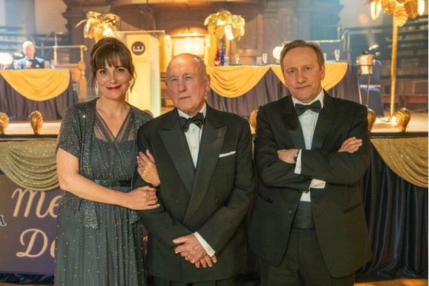 Midsomer Murders XXlThe Point of Balance Fiona Dolman as Sarah Barnaby Christopher Timothy as Ted Barnaby Neil Dudgeon as DCI John Barnaby
