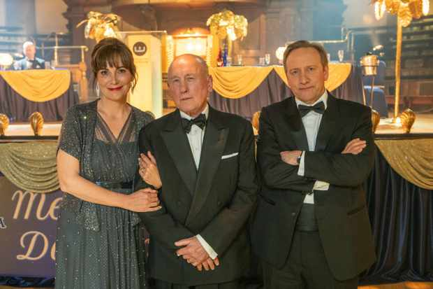 Midsomer Murders XXl  The Point of Balance  Fiona Dolman as Sarah Barnaby  Christopher Timothy as Ted Barnaby  Neil Dudgeon as DCI John Barnaby