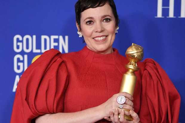 Olivia Colman - Golden Globes