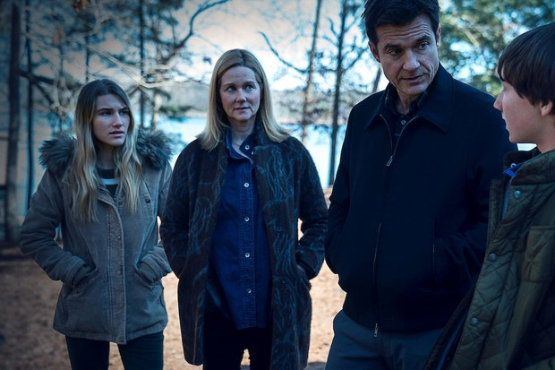 Sofia Hublitz, Laura Linney and Jason Bateman in Ozark (Netflix)