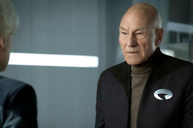Patrick Stewart stars in Star Trek Picard