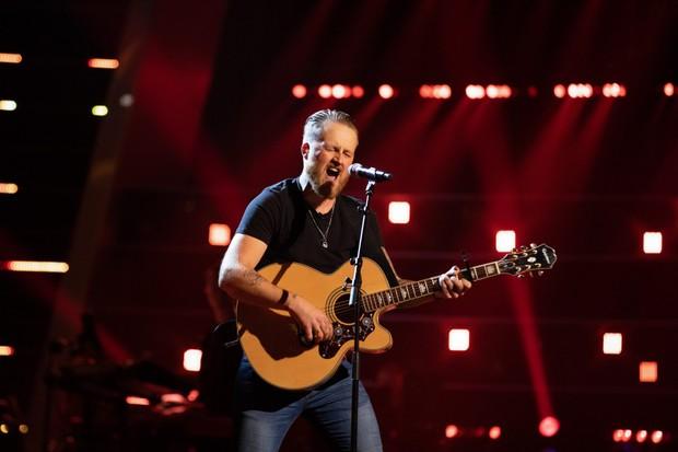 Adam, The Voice UK (©ITV Plc)
