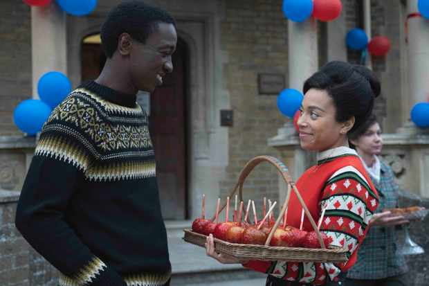 Lucille and Cyril in Call the Midwife