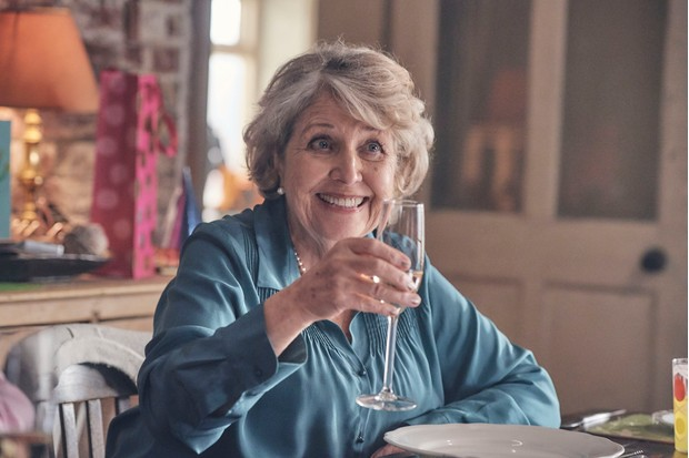 WARNING: Embargoed for publication until 00:00:01 on 18/02/2020 - Programme Name: Last Tango In Halifax Series 5 - TX: 23/02/2020 - Episode: n/a (No. 1) - Picture Shows:  Celia (ANNE REID) - (C) Lookout Point - Photographer: Matt Squire