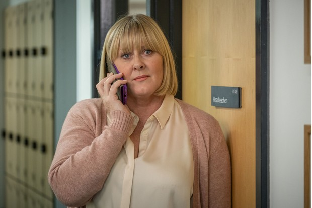 WARNING: Embargoed for publication until 00:00:01 on 18/02/2020 - Programme Name: Last Tango In Halifax Series 5 - TX: 23/02/2020 - Episode: n/a (No. 1) - Picture Shows:  Caroline (SARAH LANCASHIRE) - (C) Lookout Point - Photographer: Matt Squire