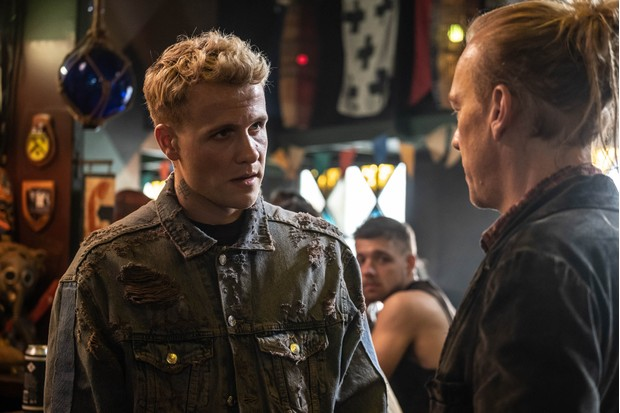 WARNING: Embargoed for publication until 00:00:01 on 25/02/2020 - Programme Name: Noughts & Crosses - TX: 05/03/2020 - Episode: n/a (No. 1) - Picture Shows:  Jude McGregor (JOSH DYLAN), Jack Dorn (SHAUN DINGWALL) - (C) Mammoth Screen - Photographer: Ilze Kitshoff