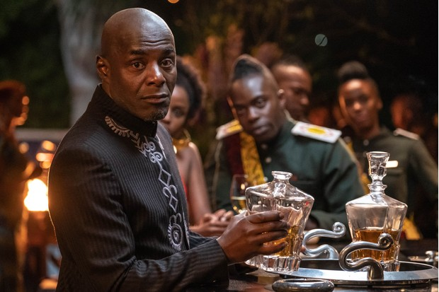 WARNING: Embargoed for publication until 00:00:01 on 25/02/2020 - Programme Name: Noughts & Crosses - TX: 05/03/2020 - Episode: n/a (No. 1) - Picture Shows:  Kamal Hadley (PATERSON JOSEPH), Lekan Baako (JONATHAN AJAYI) - (C) Mammoth Screen - Photographer: Ilze Kitshoff