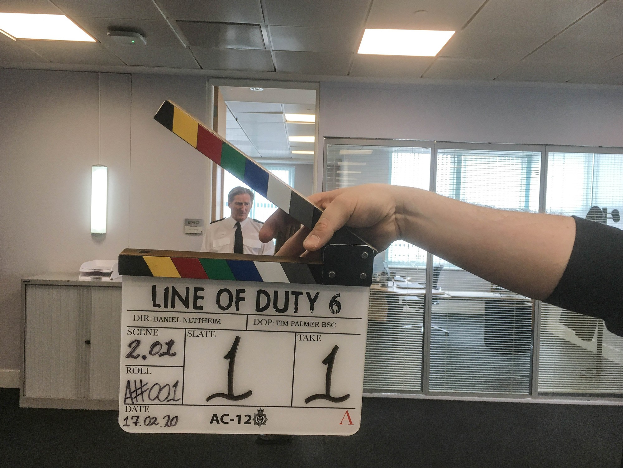 Line of Duty series 6 filming pictures