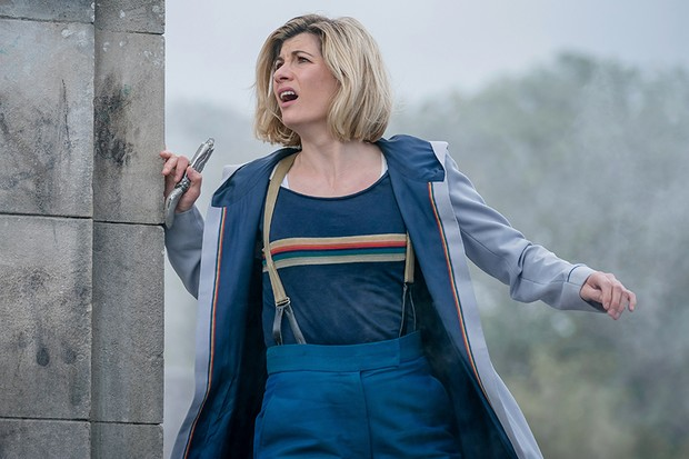Jodie Whittaker as The Doctor - Doctor Who _ Season 12, Episode 9 - Photo Credit: Ben Blackall/BBC Studios/BBC America