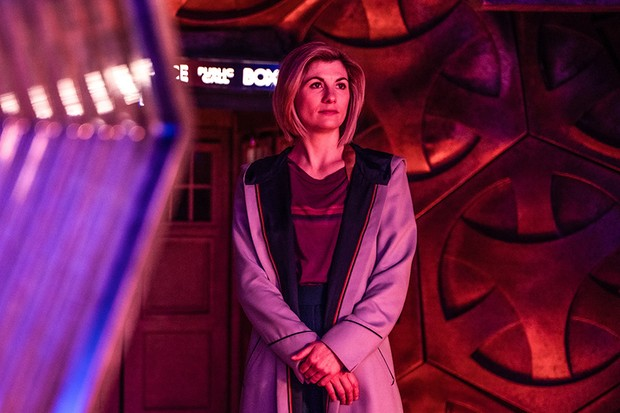 Jodie Whittaker as The Doctor - Doctor Who _ Season 12, Episode 6 - Photo Credit: James Pardon/BBC Studios/BBC America