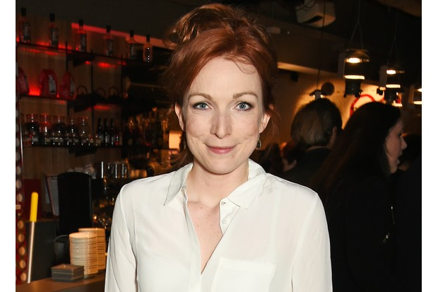 """attends the press night after party for """"Tipping The Velvet"""" at The Lyric Hammersmith on September 28, 2015 in London, England."""