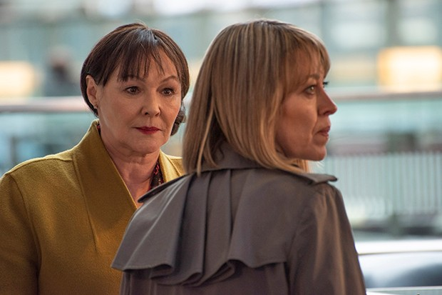 Frances Barber plays Misty in The Split