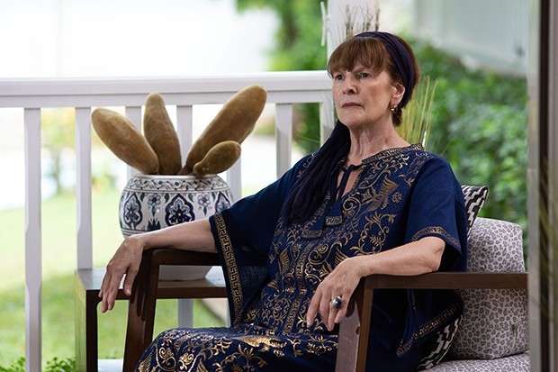 Frances Tomelty plays Olivia Reeves in Death in Paradise S9