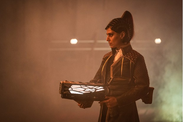 Ritu Arya as Gax - Doctor Who _ Season 12, Episode 5 - Photo Credit: Ben Blackall/BBC Studios/BBC America