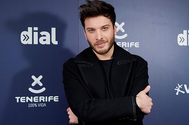 MADRID, SPAIN - JANUARY 22: Singer Blas Canto attends the Cadena Dial Awards 2019 press conference on January 22, 2019 in Madrid, Spain. (Photo by Carlos R. Alvarez/WireImage)