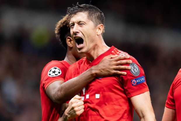 Robert Lewandowski Champions League top scorers