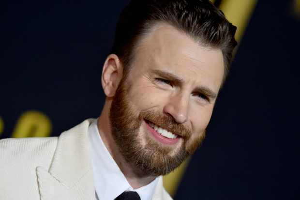 """WESTWOOD, CALIFORNIA - NOVEMBER 14: Chris Evans attends the Premiere of Lionsgate's """"Knives Out"""" at Regency Village Theatre on November 14, 2019 in Westwood, California. (Photo by Axelle/Bauer-Griffin/FilmMagic)"""