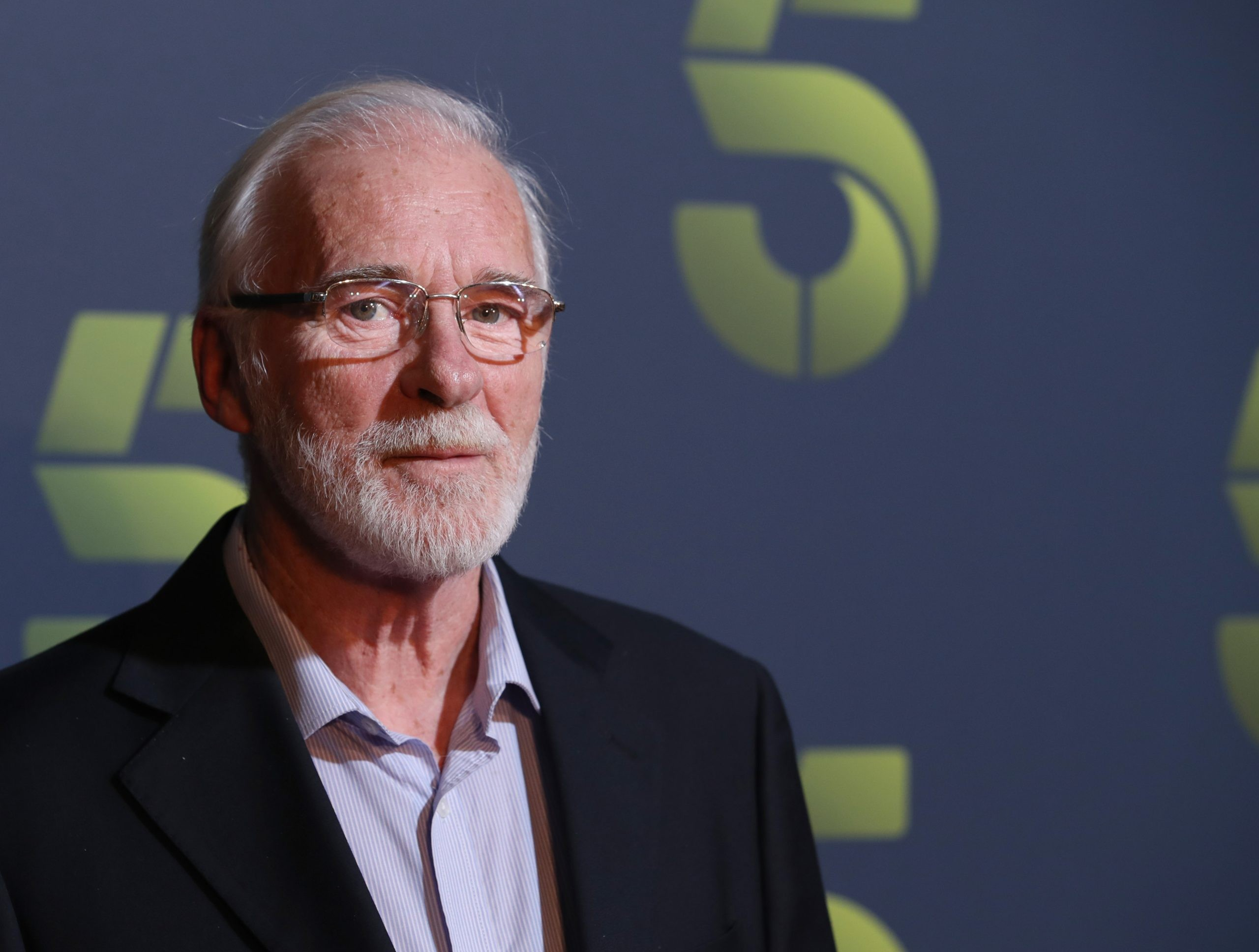LONDON, ENGLAND - NOVEMBER 19:  Ian McElhinney attends the Channel 5 2020 Upfront photocall at St. Pancras Renaissance London Hotel on November 19, 2019 in London, England. (Photo by Mike Marsland/WireImage)