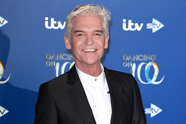 BOVINGDON, ENGLAND - DECEMBER 09: Phillip Schofield attends the Dancing On Ice 2019 photocall at the Dancing On Ice Studio, ITV Studios, Old Bovingdon Airfield on December 09, 2019 in Bovingdon, England. (Photo by Karwai Tang/WireImage)