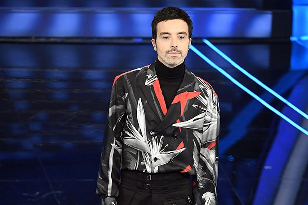 SANREMO, ITALY - FEBRUARY 07: Diodato attends the 70° Festival di Sanremo (Sanremo Music Festival) at Teatro Ariston on February 07, 2020 in Sanremo, Italy. (Photo by Daniele Venturelli/Daniele Venturelli/Getty Images )