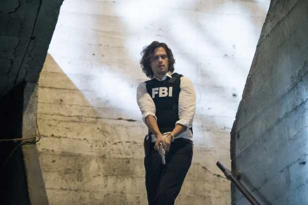 "LOS ANGELES - JULY 18: ""Wheels Up"" -- Agent Matt Simmons joins the BAU team in a race to take down Mr. Scratch and save one of their own in the process, on the 13th season premiere of CRIMINAL MINDS, Wednesday, Sept. 27 at a new time (10:00-11:00 PM, ET/PT) on the CBS Television Network. Daniel Henney joins the cast as Matt Simmons, an ex-Delta soldier and former International Response Team member.  Pictured: Matthew Gray Gubler (Dr. Spencer Reid)   (Photo by Sonja Flemming/CBS via Getty Images)"