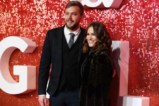Iain Stirling and Caroline Flack