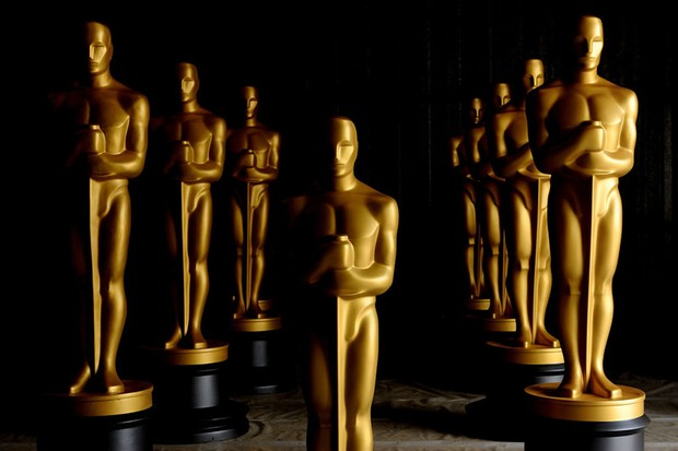 LOS ANGELES, CA - OCTOBER 19:  Freshly painted Oscar Statues in preparation for the Governors Awards and the 82nd Academy Awards at a secret location on October 19, 2009 in Northern Los Angeles County, California.  (Photo by Kristian Dowling/Getty Images)