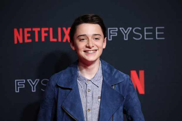 "LOS ANGELES, CA - MAY 19:  Noah Schnapp attends the #NETFLIXFYSEE For Your Consideration ""Stranger Things"" Event at Netflix FYSEE At Raleigh Studios on May 19, 2018 in Los Angeles, California.  (Photo by Phillip Faraone/FilmMagic)"