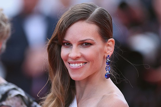 "CANNES, FRANCE - MAY 18:  Hilary Swank attends ""The Homesman"" premiere during the 67th Annual Cannes Film Festival on May 18, 2014 in Cannes, France.  (Photo by Gareth Cattermole/Getty Images)"
