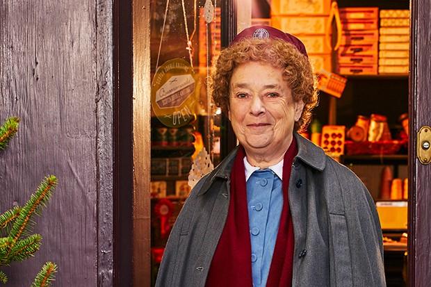 Linda Bassett plays Nurse Phyllis Crane in Call the Midwife