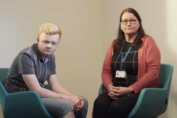 Josh and Steph Langley - CAMHS Crisis Nurse