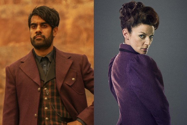 Sacha Dhawan and Michelle Gomez as The Master (BBC)
