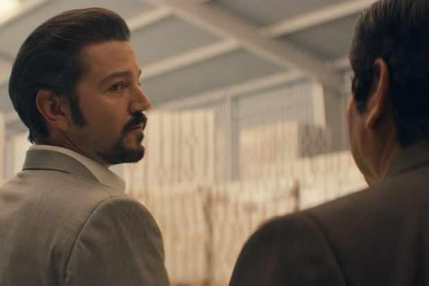 Diego Luna in Narcos: Mexico (Netflix)