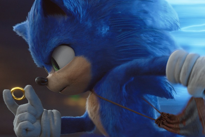 Sonic Review Is The Sonic The Hedgehog Movie Good What Does Sonic Look Like Radio Times