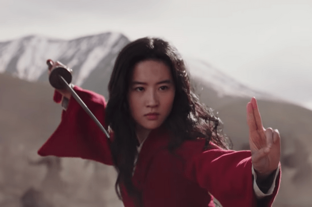 Liu Yifei as Mulan in the 2020 live action remake
