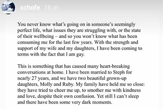 An excerpt from Phillip's statement (Intsagram @Schofe)