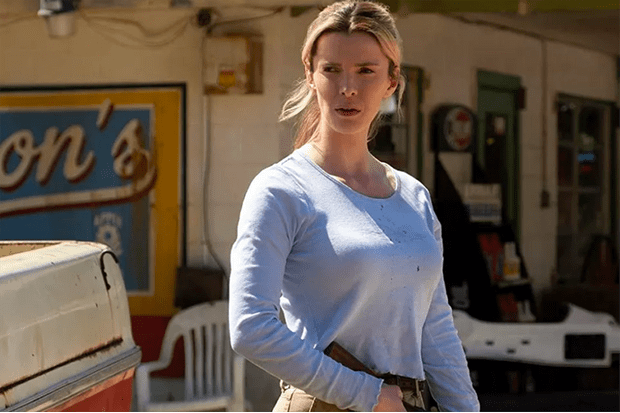 Betty Gilpin in The Hunt (Universal)