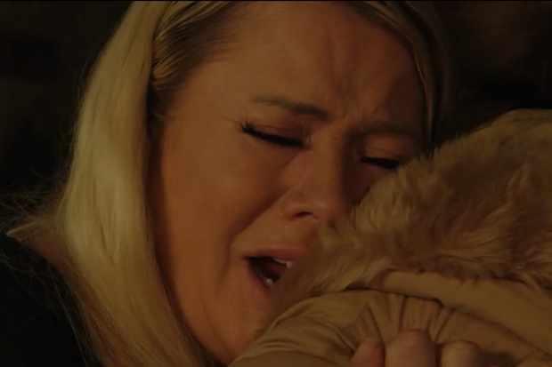 Sharon Mitchell weeps 2