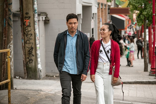 Randall Park and Ali Wong in Always Be My Maybe (Netflix)