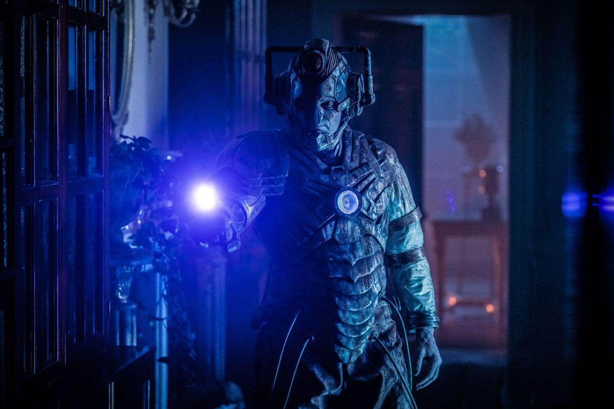 Doctor Who - the Lone Cyberman