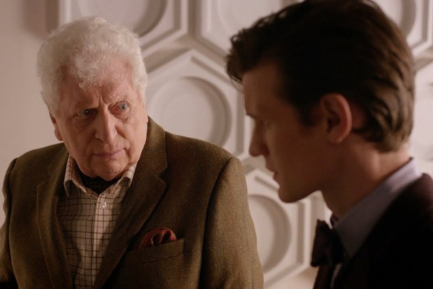 Doctor Who - Tom Baker as the Curator