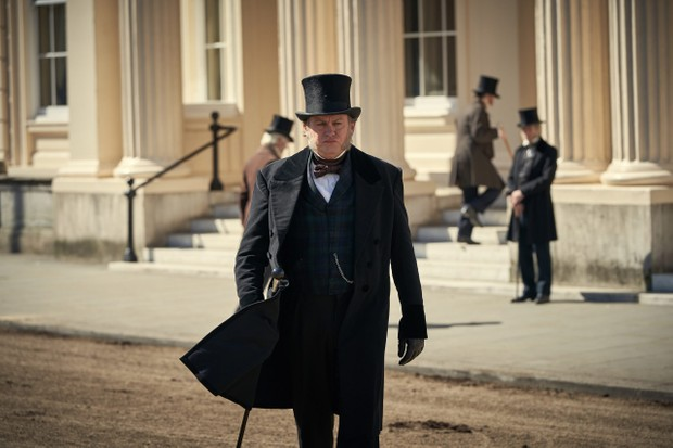 EMBARGIOED UNTIL 5.00PM ON 4TH jUNE 2019.  CARNIVAL FILMS FOR ITV  BELGRAVIA  Pictured:  PHILIP GLENISTER as James Trenchard.  This image is the copyright of Carnival Films.