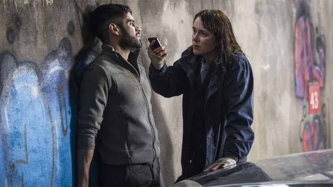 Sacha Dhawan and Keeley Hawes in Line of Duty (BBC)
